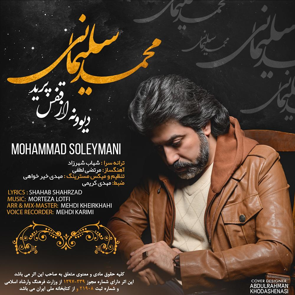 دانلود موزیک جدید محمد سلیمانی دیوونه از قفس پرید